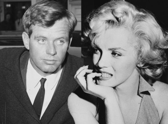 Marilyn and Bobby Kennedy